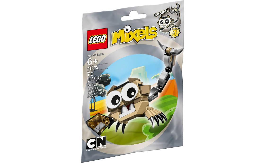 LEGO Mixels Скорпи (41522)