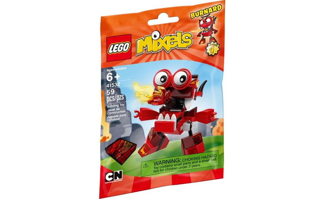 LEGO Mixels Бёрнард (41532)