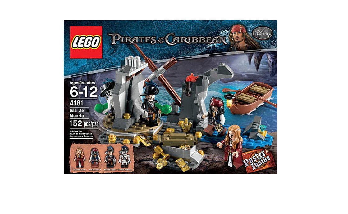 Раритет Логово Пиратов (4181)