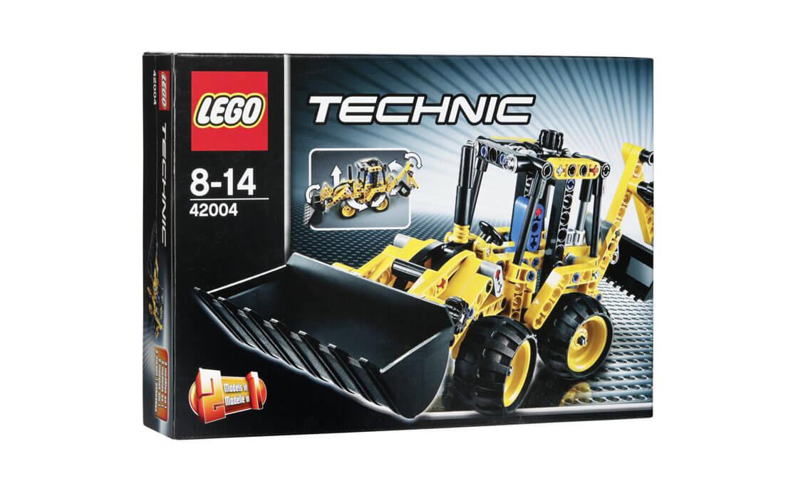 LEGO Technic Мини экскаватор-погрузчик (42004)
