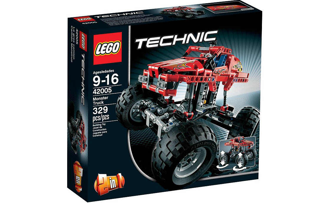 LEGO Technic Монстрогрузовик (42005)
