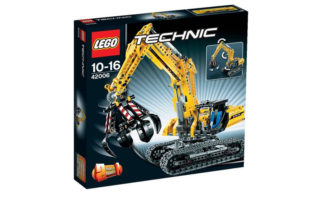 LEGO Technic Экскаватор (42006)