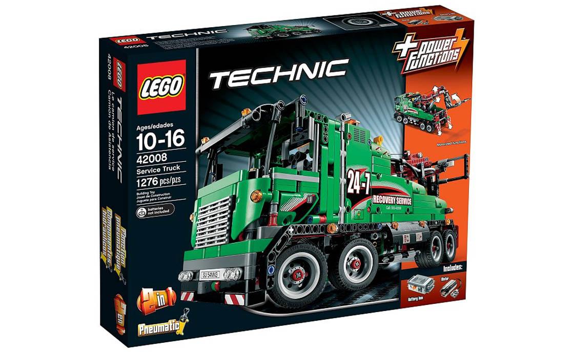 LEGO Technic Машина техобслуживания (42008)