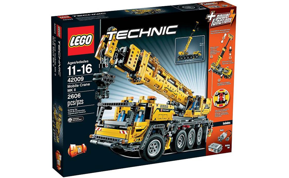 LEGO Technic Передвижной кран MK II (42009)