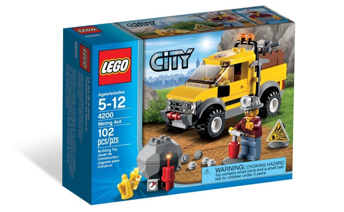 LEGO City Шахтерский внедорожник (4200)