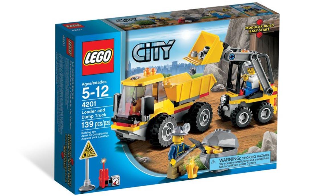 LEGO City Погрузчик и самосвал (4201)