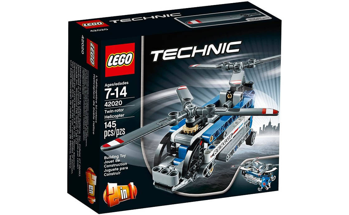 LEGO Technic Двухвинтовый вертолёт (42020)