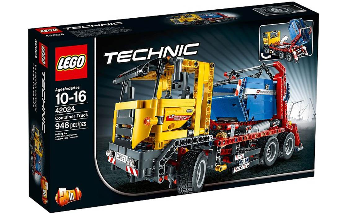 LEGO Technic Контейнеровоз (42024)