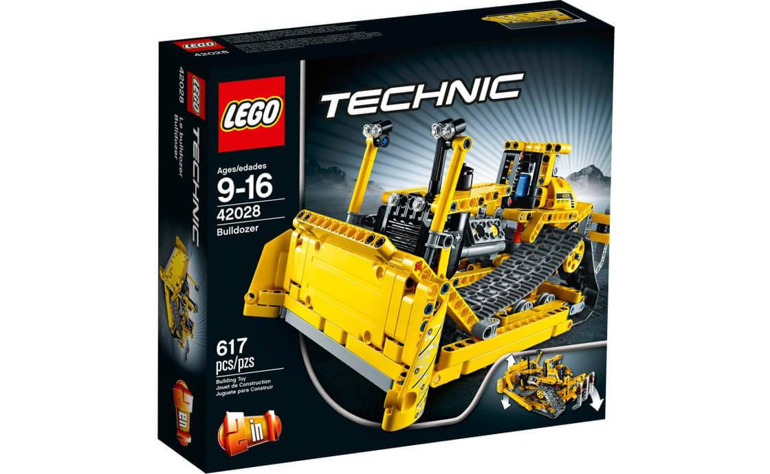LEGO Technic Бульдозер (42028)