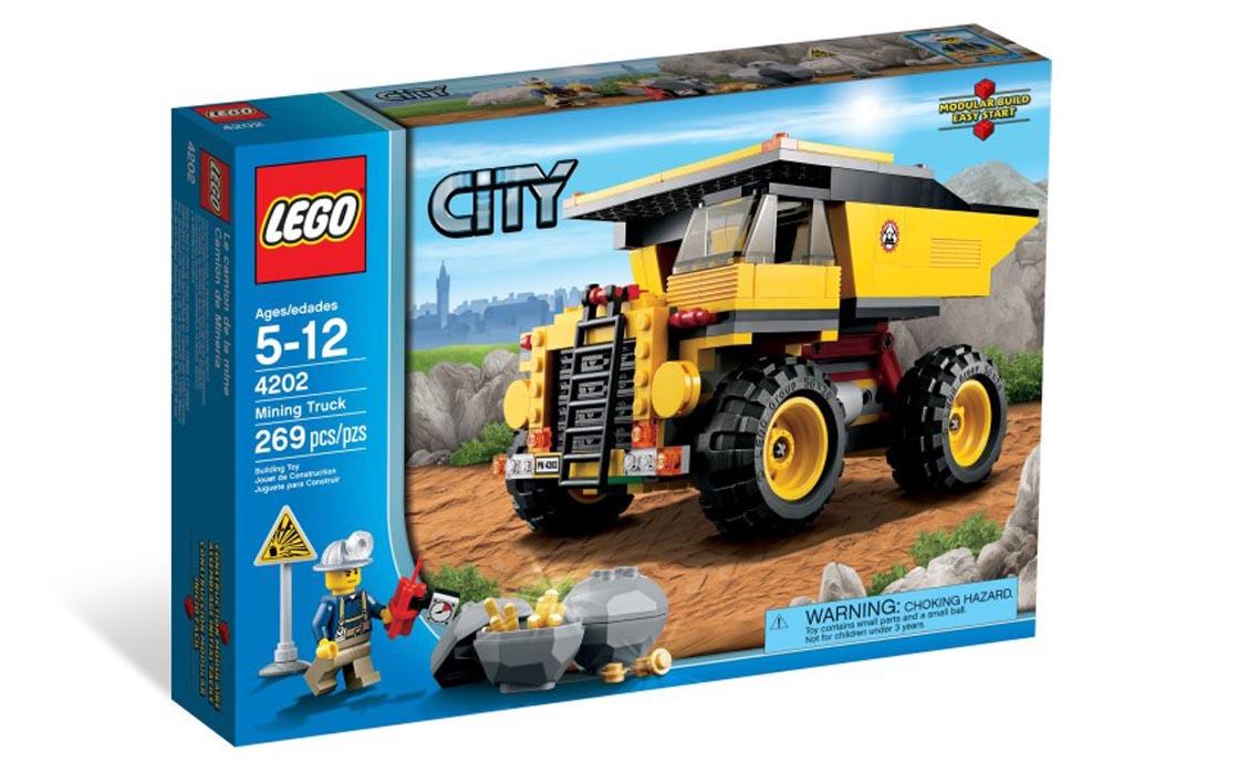 LEGO City Карьерный самосвал (4202)
