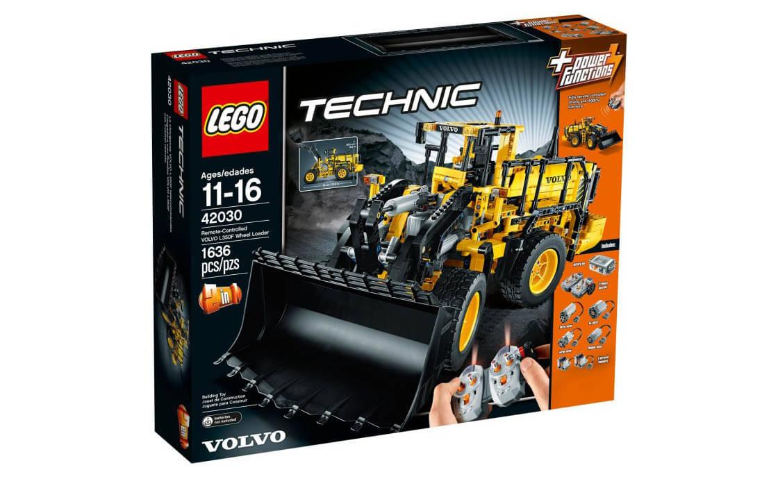 LEGO Technic Навантажувач Volvo L350F (42030)