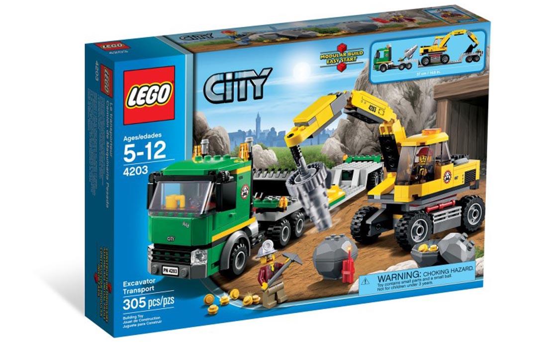 LEGO City Экскаватор (4203)