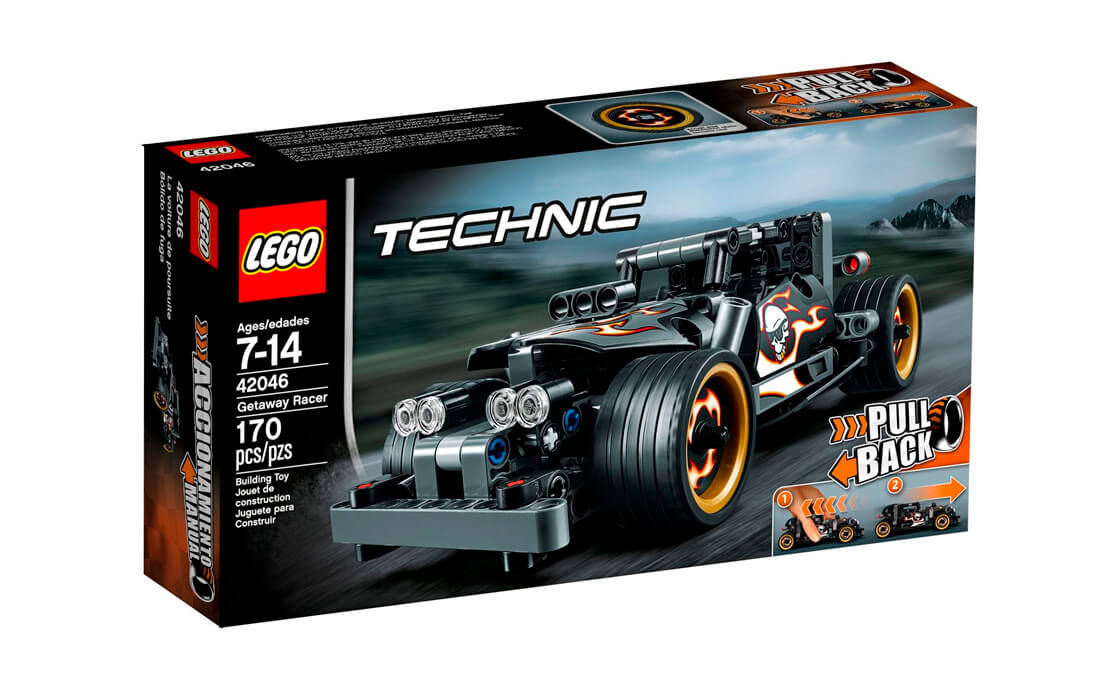 LEGO Technic Гоночне авто для втечі (42046)