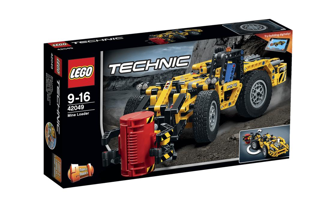 LEGO Technic Кар'єрний навантажувач (42049)