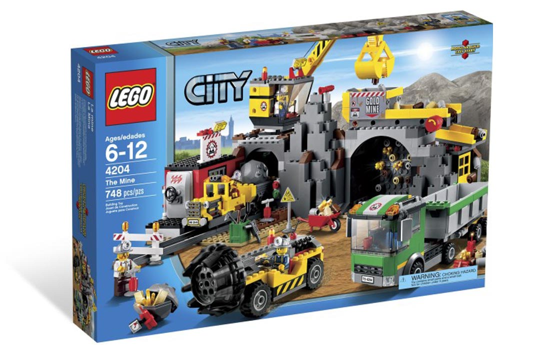 LEGO City Шахта (4204)