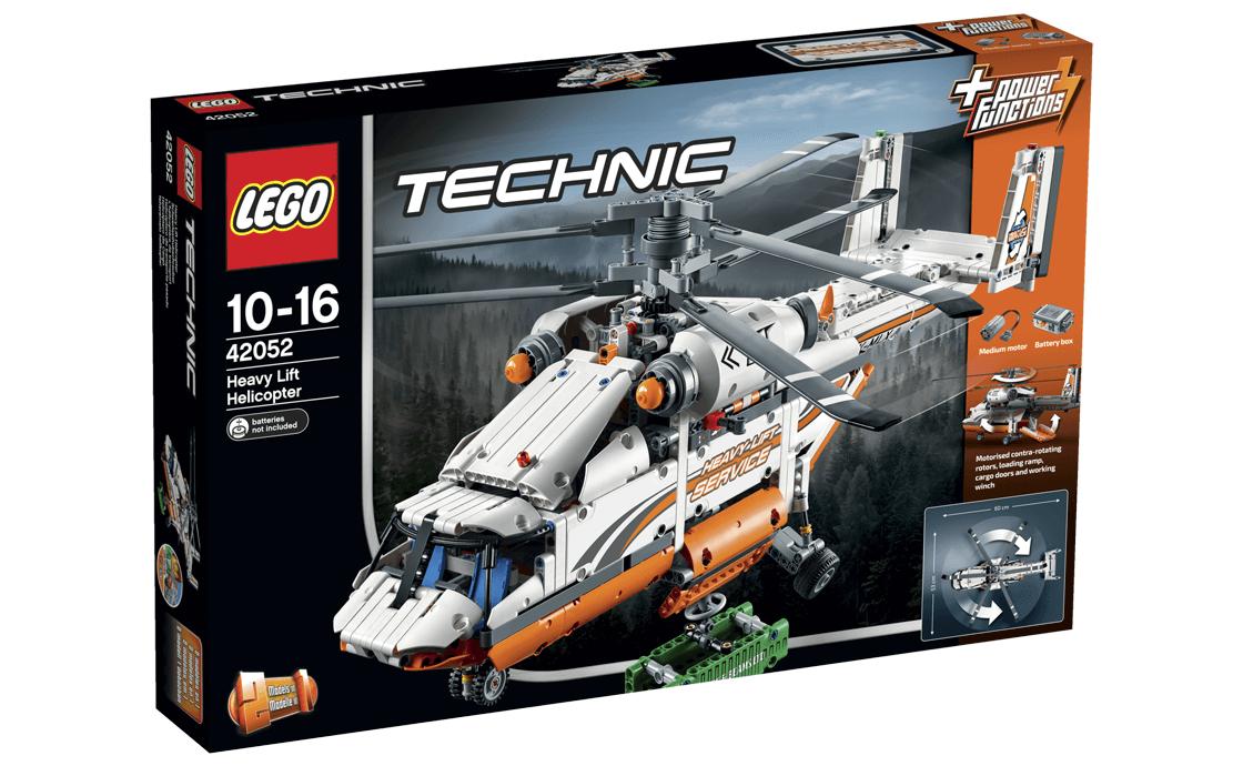 LEGO Technic Вантажний гелікоптер (42052)