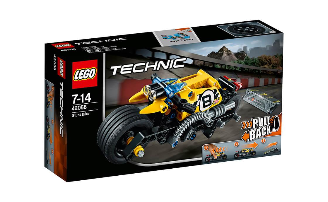 LEGO Technic Мотоцикл для трюків (42058)