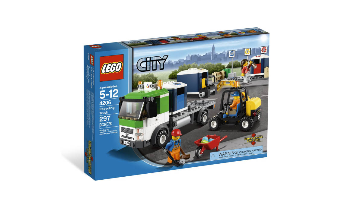 LEGO City Перевозчик (4206)