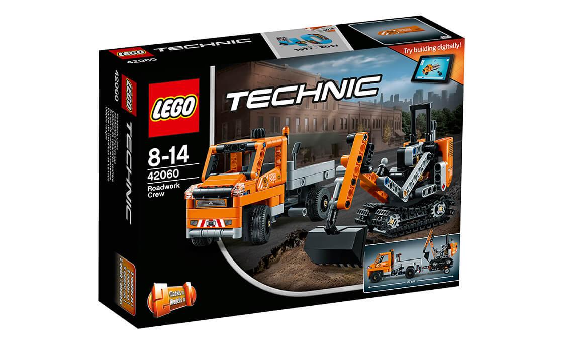 LEGO Technic Дорожня техніка (42060)
