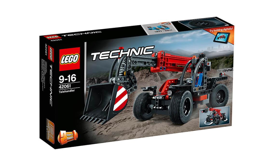LEGO Technic Телескопічний навантажувач (42061)