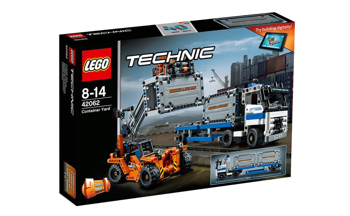 LEGO Technic Контейнерний термінал (42062)