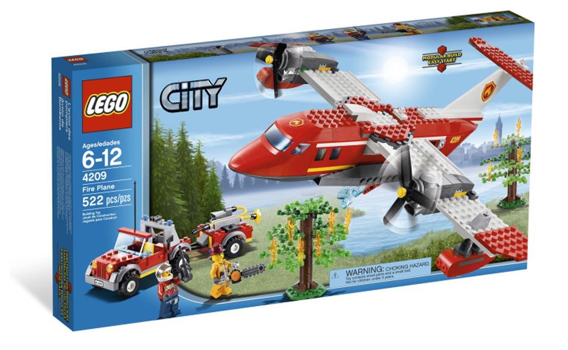 LEGO City Пожарный самолет (4209)