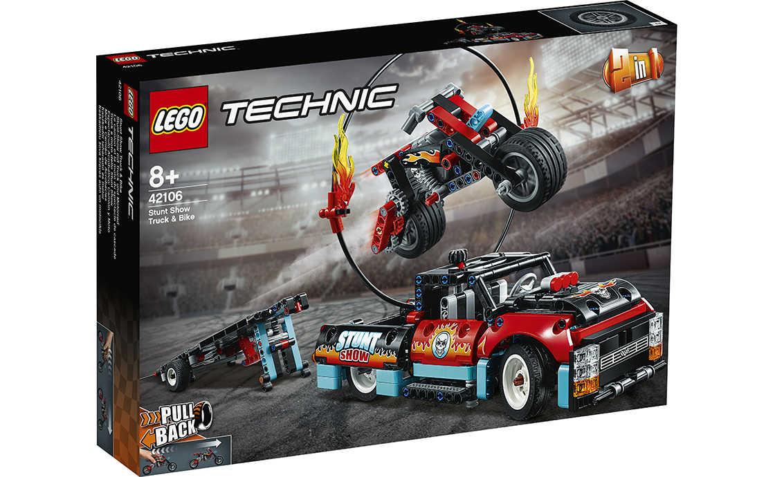 LEGO Technic Шоу трюків на вантажівках і мотоциклах (42106)