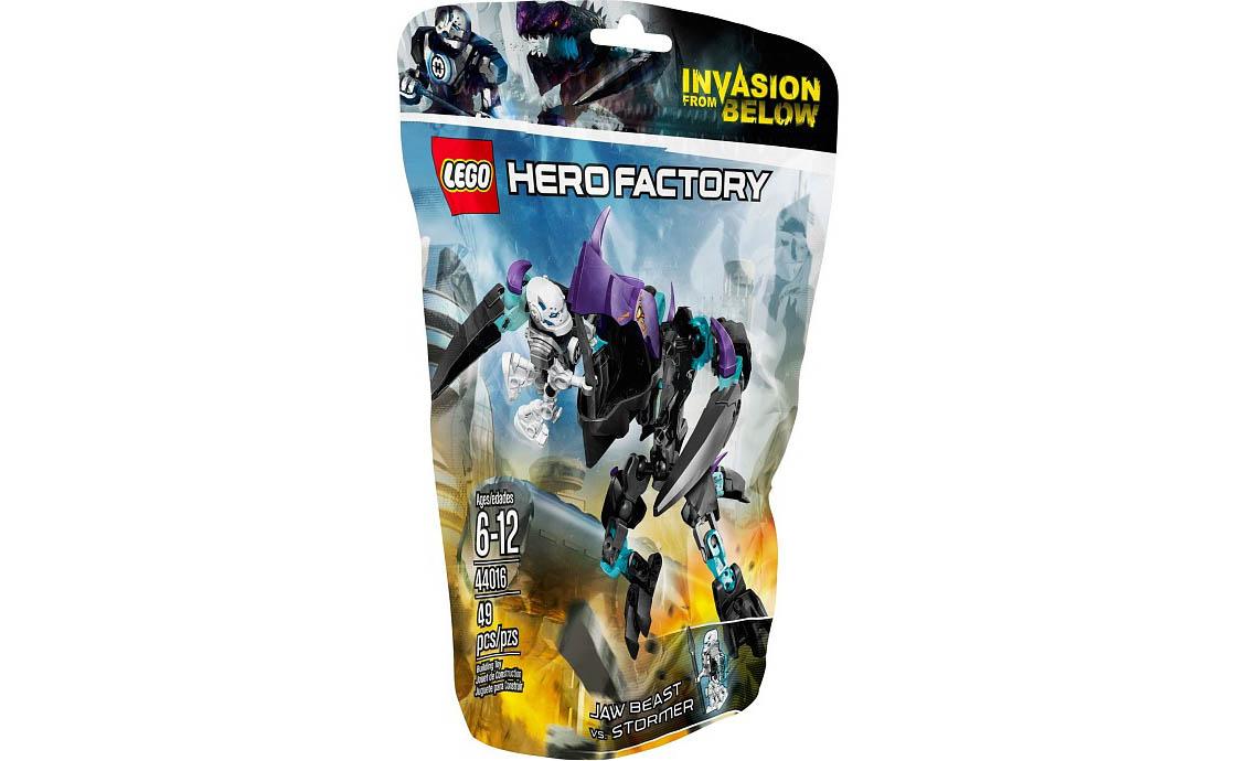 LEGO Hero Factory Кусающий Монстр против Стормера (44016)