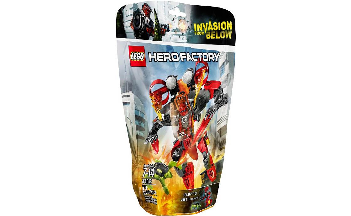LEGO Hero Factory Реактивная машина Фурно (44018)