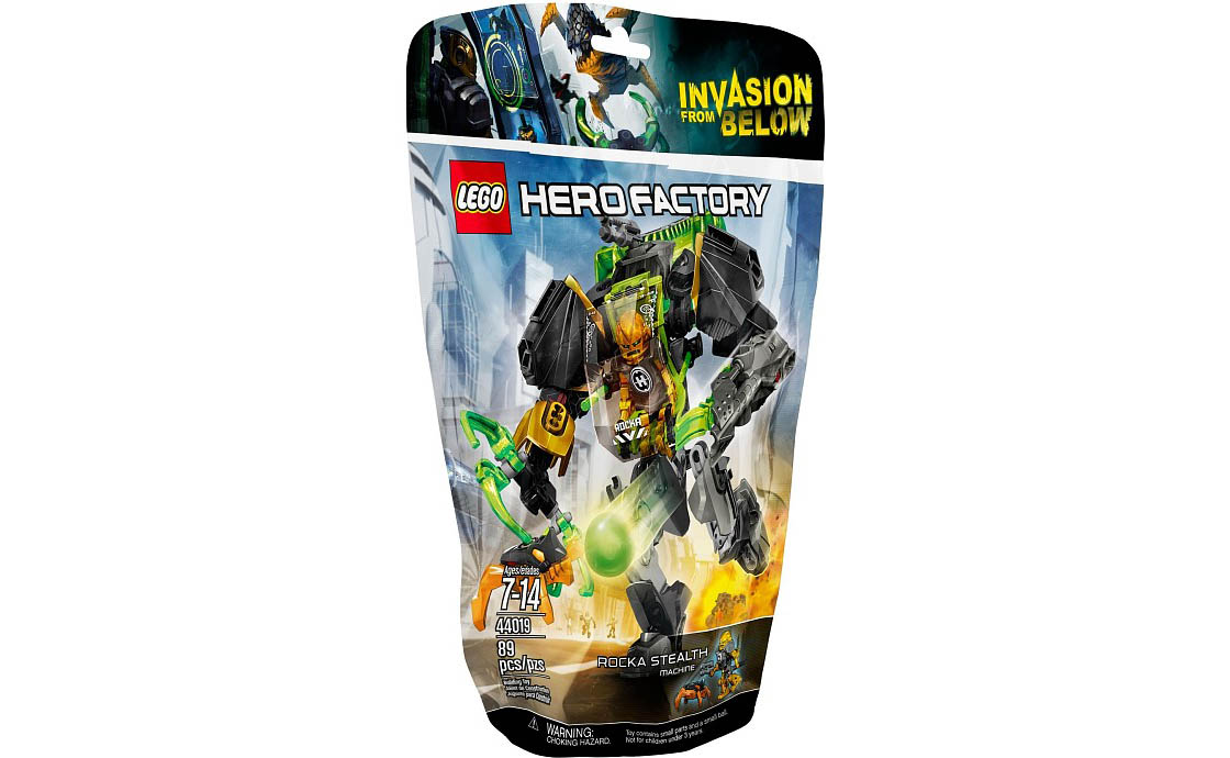LEGO Hero Factory Робот-истребитель Роки (44019)
