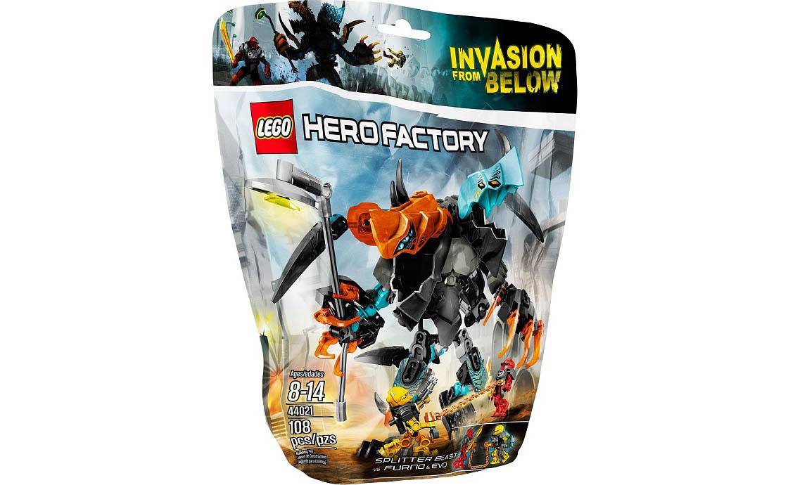 LEGO Hero Factory Сплиттер против Фурно и Эво (44021)