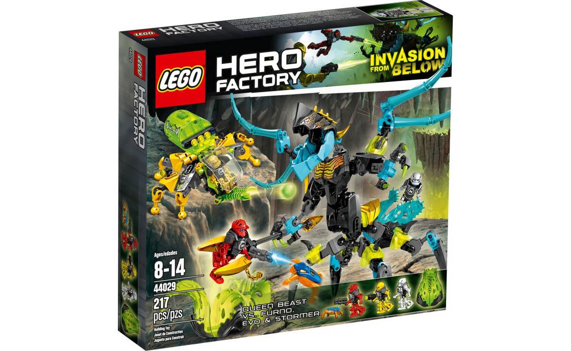 LEGO Hero Factory Королева монстров против Фурно, Эво и Стормера (44029)
