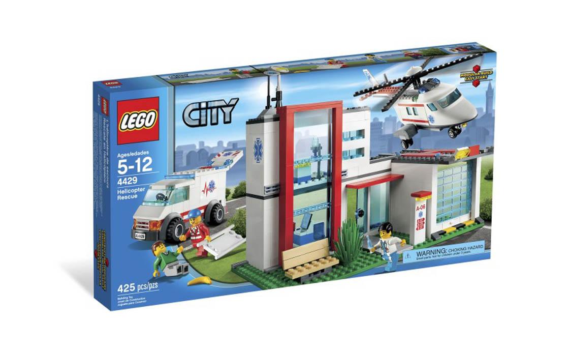 LEGO City Вертолет-спасатель (4429)