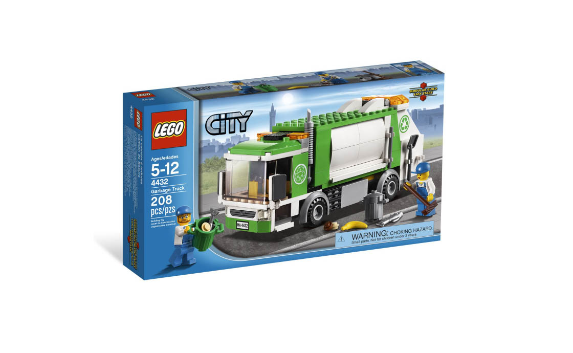 LEGO City Мусоровоз (4432)
