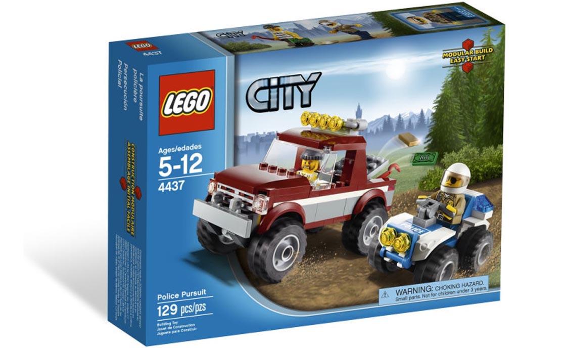 LEGO City Полицейская погоня (4437)