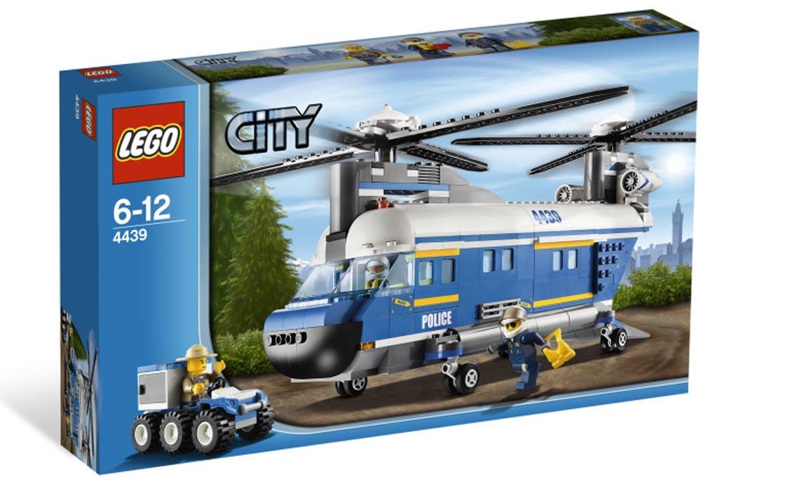 LEGO City Полицейский грузовой вертолет (4439)