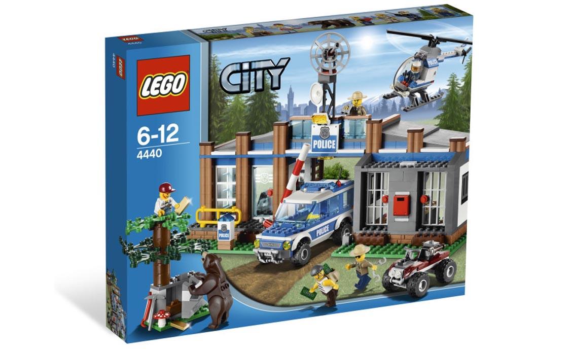 LEGO City Пост лесной полиции (4440)