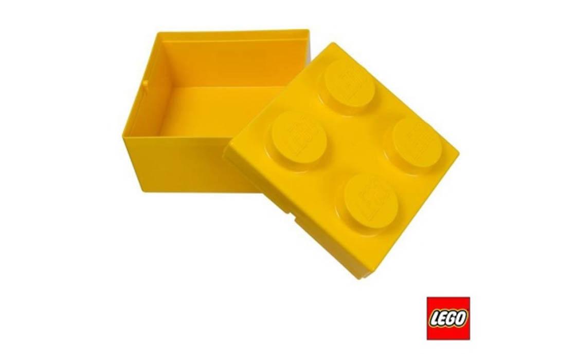 LEGO Accessories Коробка в виде жёлтого кубика LEGO (4622400)