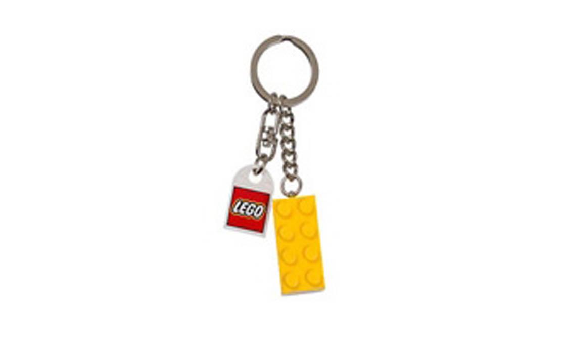 LEGO Accessories Брелок в виде жёлтого кубика LEGO (4638311)