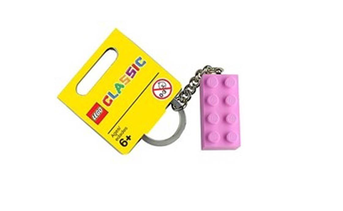LEGO Accessories Брелок в виде розового кубика LEGO (4638317)