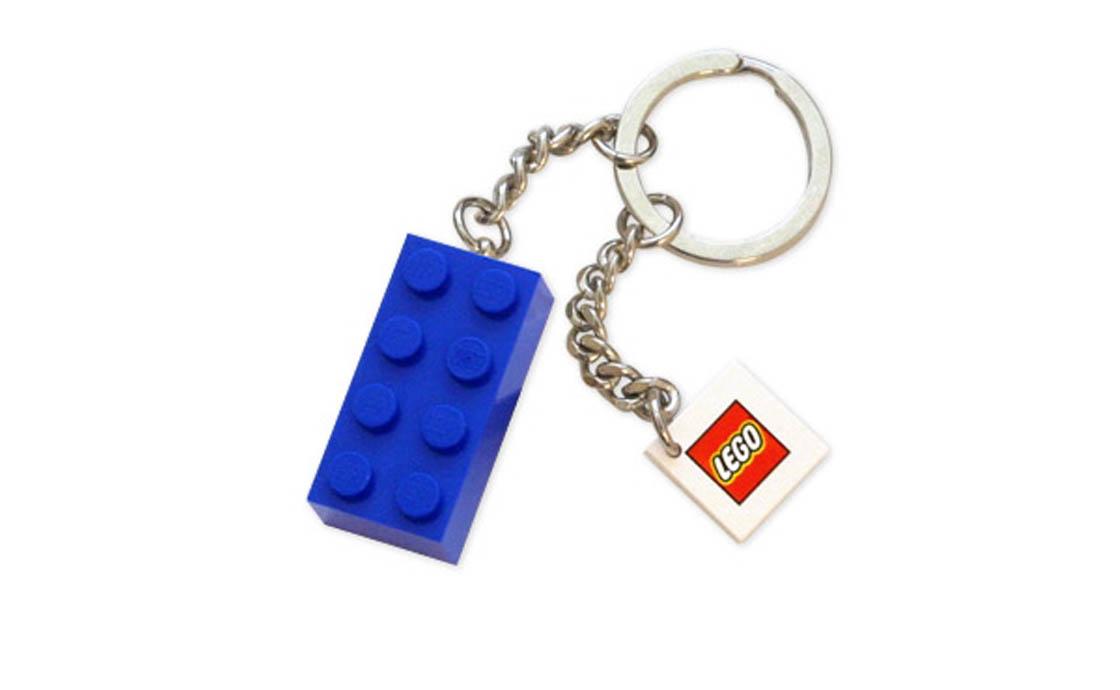 LEGO Accessories Брелок в виде голубого кубика LEGO (4638318)