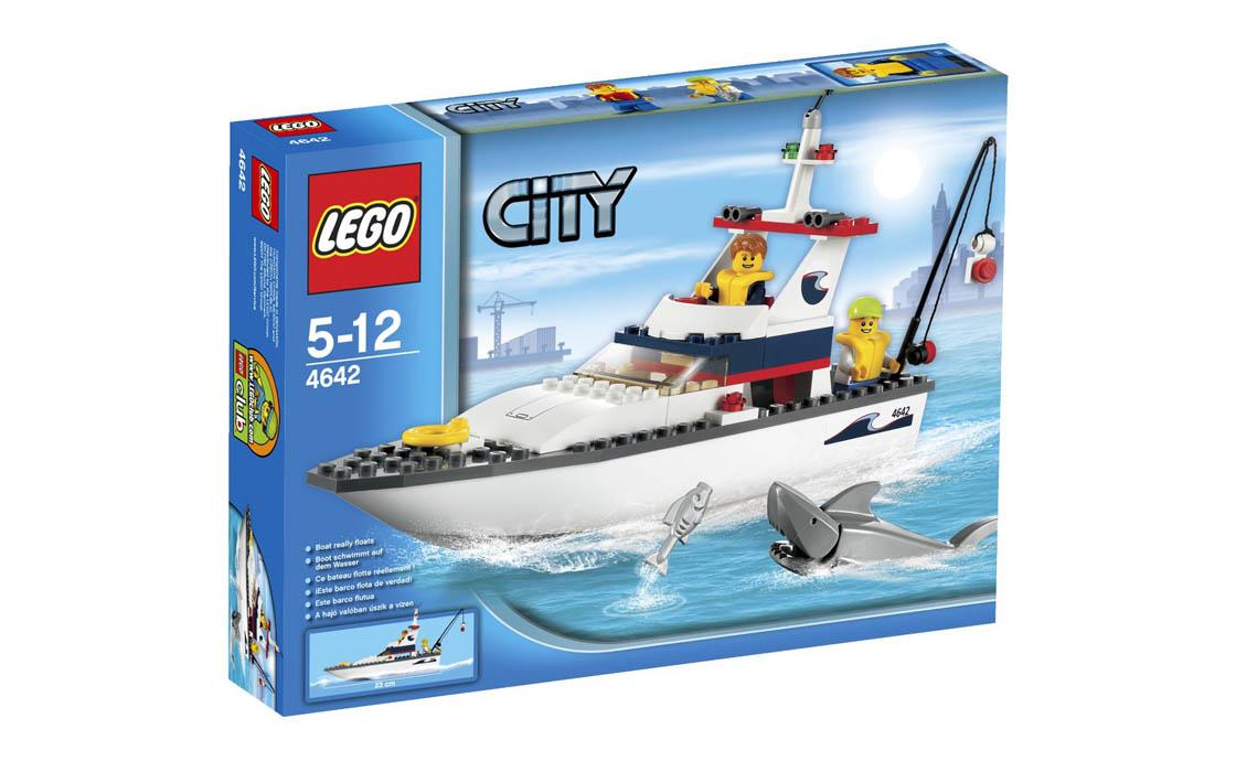 LEGO City Рыболовное судно (4642)
