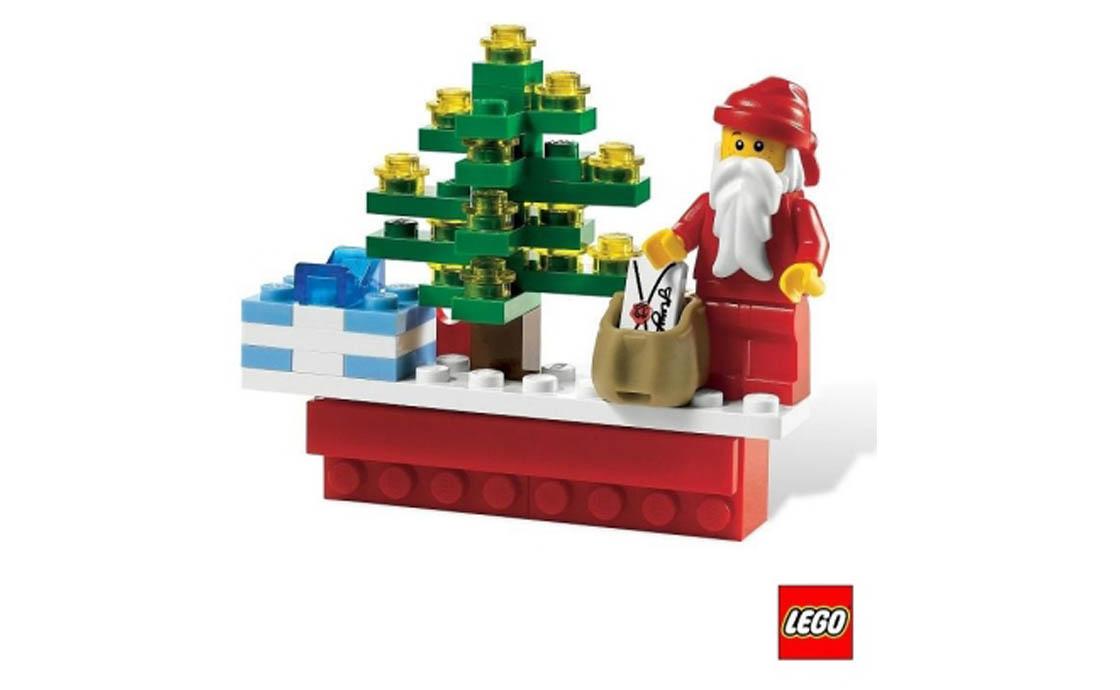 """LEGO Accessories Магнит """"Новогодняя сценка"""" (4649149)"""