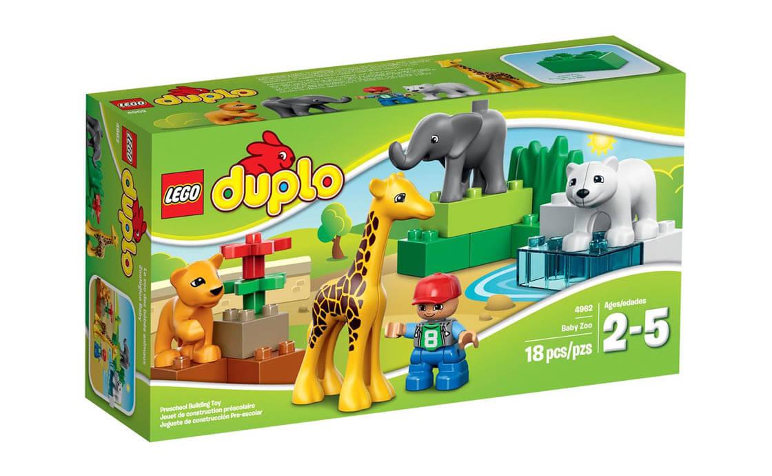 LEGO DUPLO Зоопарк для малюків (4962)