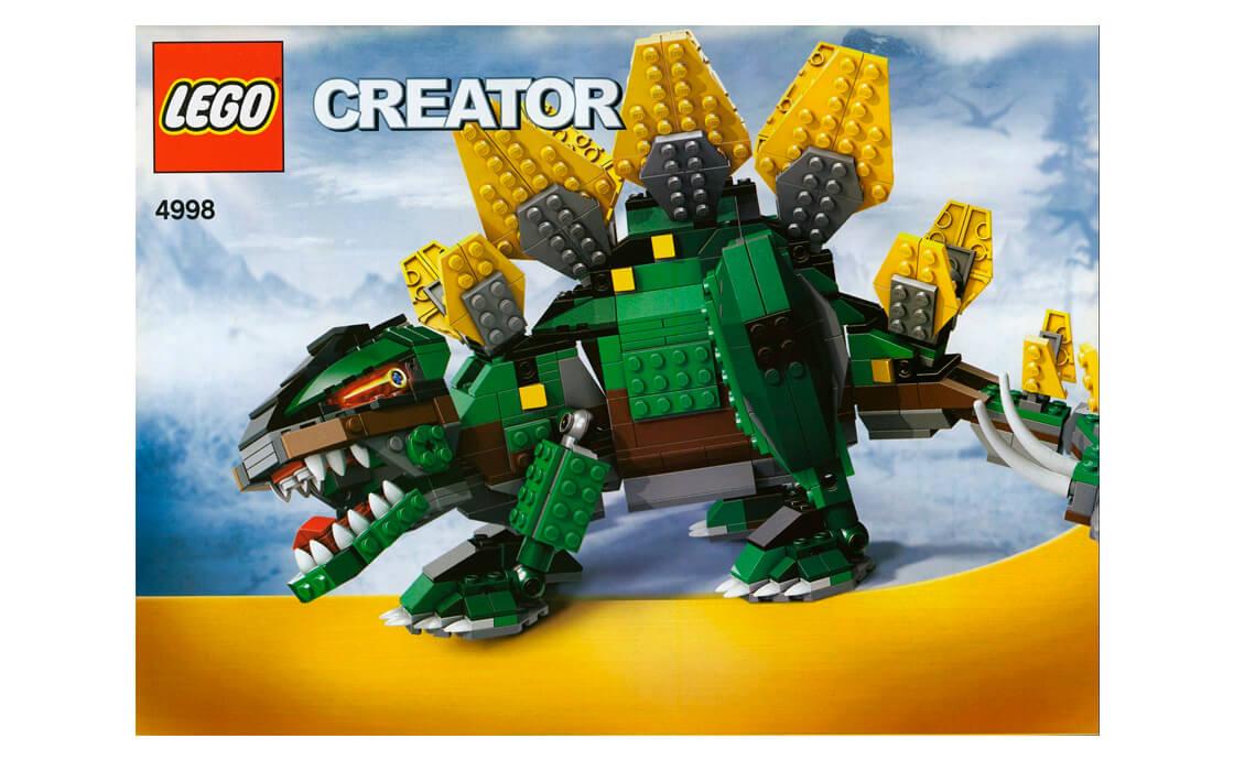 LEGO Creator Стегозавр (4998_1)