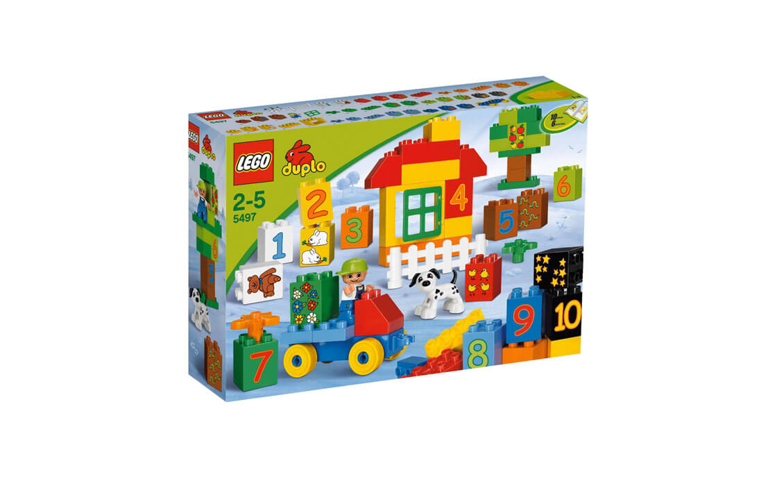 LEGO DUPLO Играй с цифрами (5497)