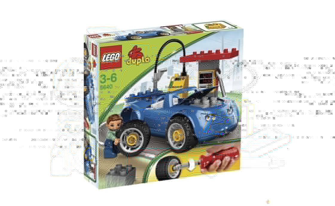 LEGO DUPLO Заправочная станция (5640)