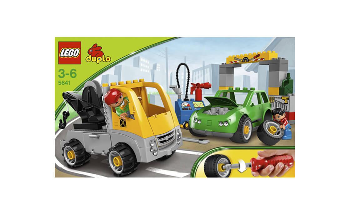 LEGO DUPLO Авторемонтная мастерская за работой (5641)