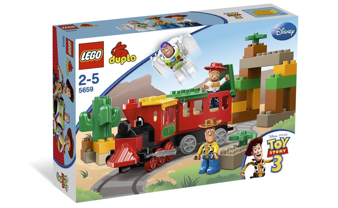 LEGO DUPLO Погоня за поездом (5659)