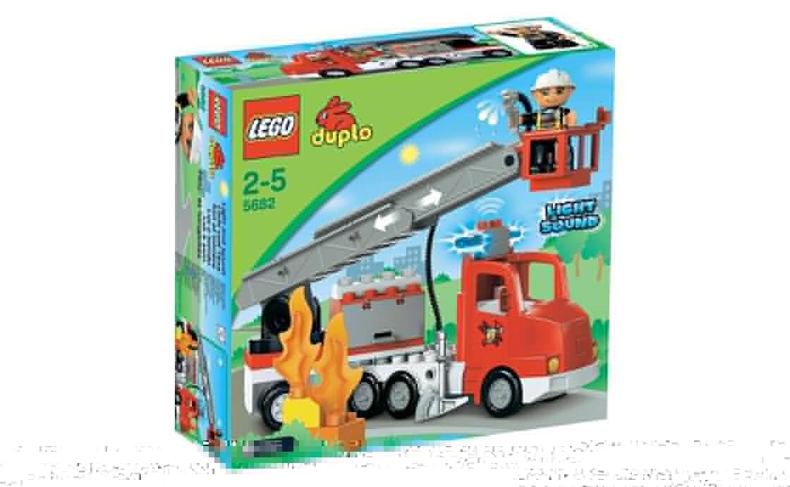 LEGO DUPLO Пожарный грузовик (5682)